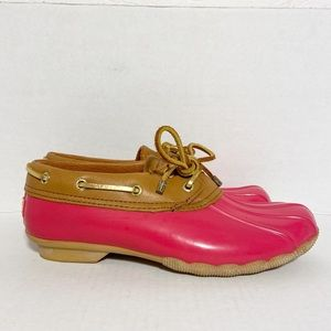 Sperry Top-Sider Women's Duck Ankle Boot Size 6.5